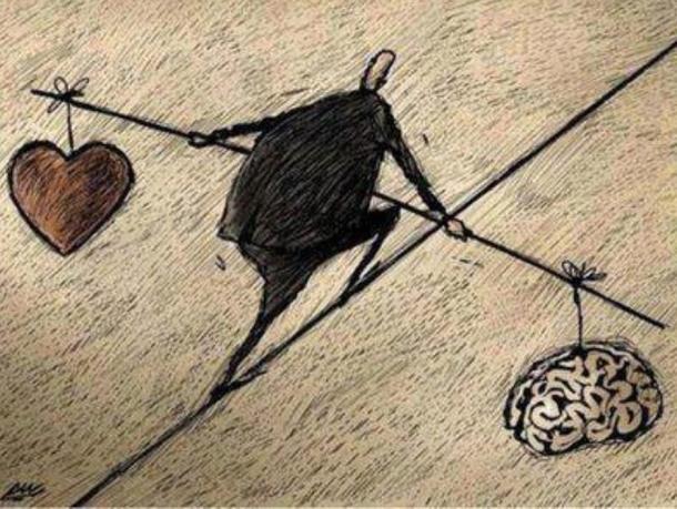 balance thinking and feeling