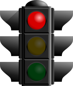 traffic light clear background