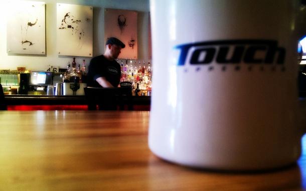 touch supper club mug
