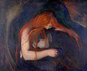 edvard munch_the vampire