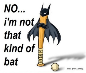 not that kind of bat
