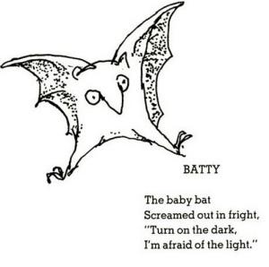 shel silverstein baby bat