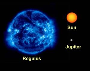 regulus_sun_comparison