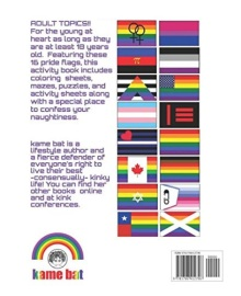 back of pride flags